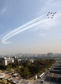 서울하늘 가르는 블랙이글스