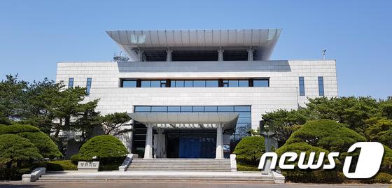 세번째 남북정상회담 준비중인 판문점 평화의 집