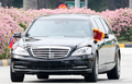 싱가포르에서 리무진 타고 이동하는 北 김정은 위원장