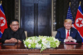 북미정상 역사적 합의문 서명