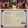 북한 노동신문이 공개한 한글 북미정상회담 공동성명문