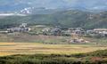 추석 연휴 북한의 모습은... '황금빛 들녘'