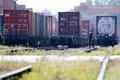 철도노조 파업, 정차된 화물열차