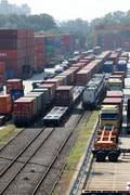 전국철도노동조합 총파업 돌입, 멈춘 화물열차