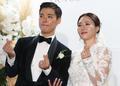 강남·이상화 '우리 결혼했어요'