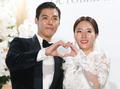 '정법 커플' 강남·이상화 '행복하게 살게요'