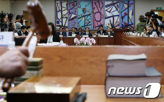 [국감] 20대 국회 마지막 국정감사 '스타트'