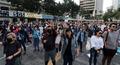 홍콩 시민들 '5개 요구사항 수용 촉구'