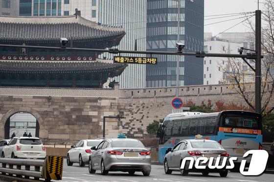 배출가스 5등급 차량, 서울 사대문 안 운행제한