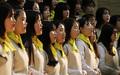 세월호 참사 5주기, 합창하는 단원고 재학생들