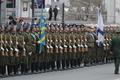 러시아 의장대, 김정일 위원장 방문 앞두고 사열 연습