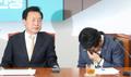 울컥하는 김관영 원내대표