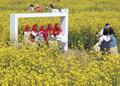 서귀포의 봄 즐기는 외국인