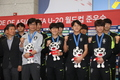 U-20 대표팀 '금의환향'