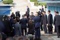 김정은 환송하는 문재인·트럼프 대통령