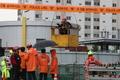 빗물펌프장 고립 구조작업 펼치는 구조대