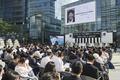 MBC 앞 광장서 엄수되는 이용마 기자 영결식