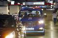 박근혜 전 대통령 태운 호송차, 성모병원 도착