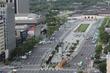 태풍 링링 북상 '한산한 도심'