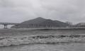 태풍 링링 '위력' 파도치는 광안리 바다