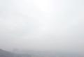 뿌연 먼지 안개 낀 서울