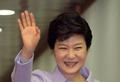서유럽 순방길 박근혜 대통령 '보랏빛 맞춤'