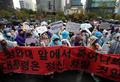동양사태 피해자들 '무능정부 각성하라'