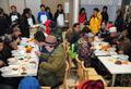 수원역, 노숙인을 위한 실내급식소 개소식