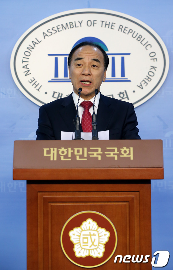 김충환 전 의원, 서울시장 후보 경선 참가