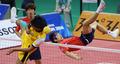 한국 세팍타크로 레구 '공격 성공!'