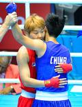 박진아 '여자 복싱 라이트급 은메달'