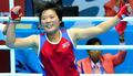 북한 장은희 금메달!