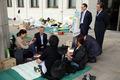 국회 앞 세월호 유가족 농성장 찾은 새정치연합