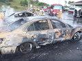 울산서 주차된 차량서 불…7대 태워