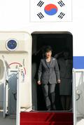 박근혜 대통령, 이탈리아 방문 마치고 귀국