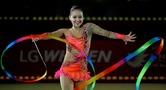 손연재 리스본 월드컵 후프 은메달…볼·곤봉 5위, 리본 6위