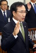 문상부 중앙선관위 사무총장 '국감 선서'