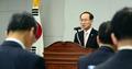 정부3.0 우수사례 경연대회 개회사하는 윤성규 장관