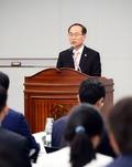 정부 3.0 경연대회 개회사 하는 윤성규 환경부 장관