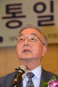 정종욱 부위원장 '통일 한국을 기대하며'