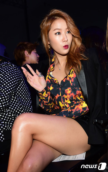 씨스타 소유, '섹시한 구릿빛 피부'