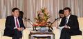 최경환 부총리, 러우 지웨이 중국 재무장관 양자회담