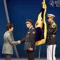 훈장 수여하는 박근혜 대통령