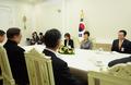 박근혜 대통령, 탕자쉬안 前 국무위원 접견
