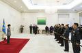 박근혜 대통령, 군 장성 수치 수여식 참석