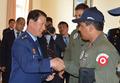 '페루 KT-1P 납품식' 참석한 최차규 공군참모총장