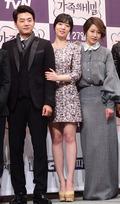 김승수-효영-신은경, '비주얼 한 가족'