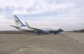 [사진] 평양공항의 미군용기