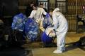 美 뉴욕 첫 에볼라 감염자 집에 나타난 폐기물 처리반