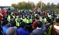 대북전단 살포, 파주 주민·시민단체 저지로 무산